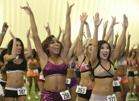 Houston Texans Cheerleaders host tryouts for 2017 squad
