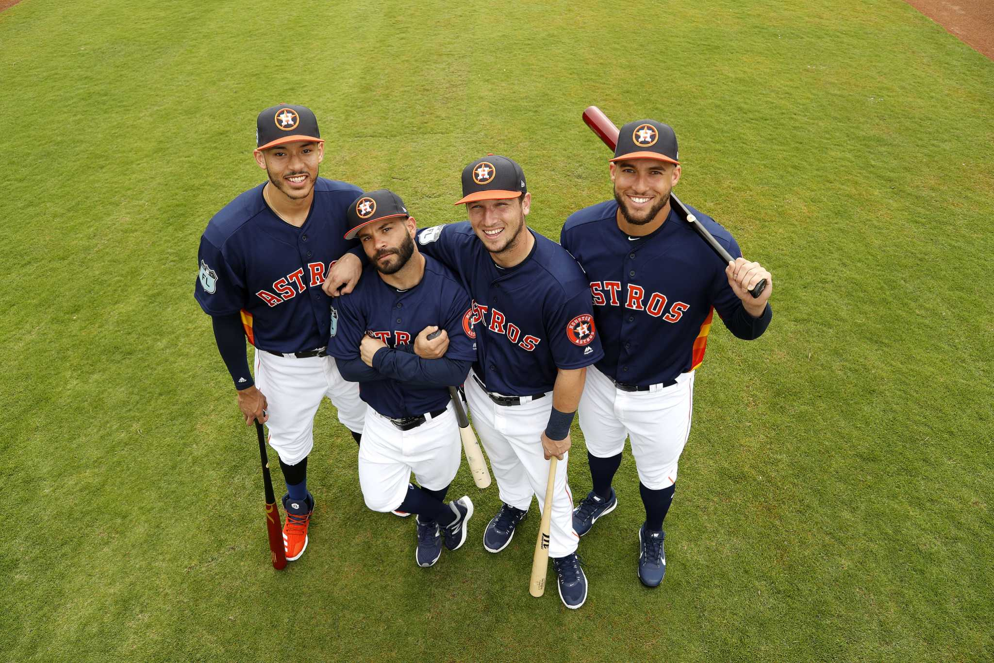 astros core four ranks with best in the majors   houston