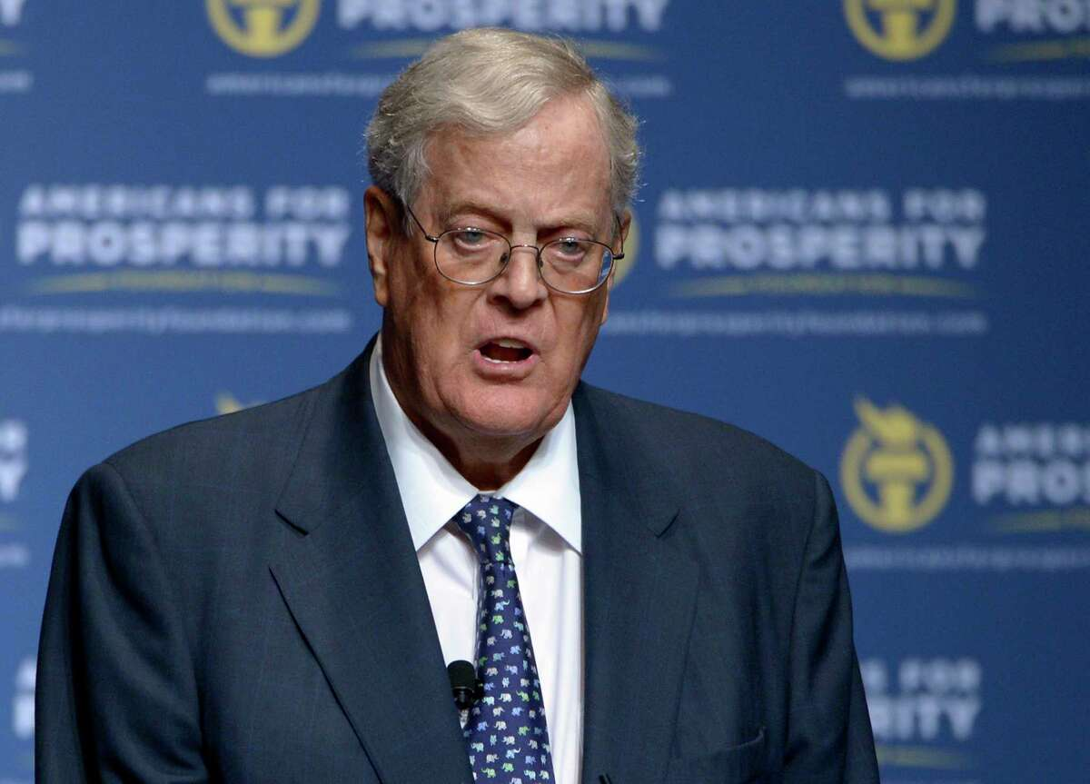 David Koch is tied with his brother and business partner as the 11th richest person in the world. The 78-year-old Kansas native, who is worth $50.5 billion, resides in New York City and shares majority control of Koch Industries, the country's second largest private firm, with Charles Koch. He has donated $1.2 billion in his lifetime.