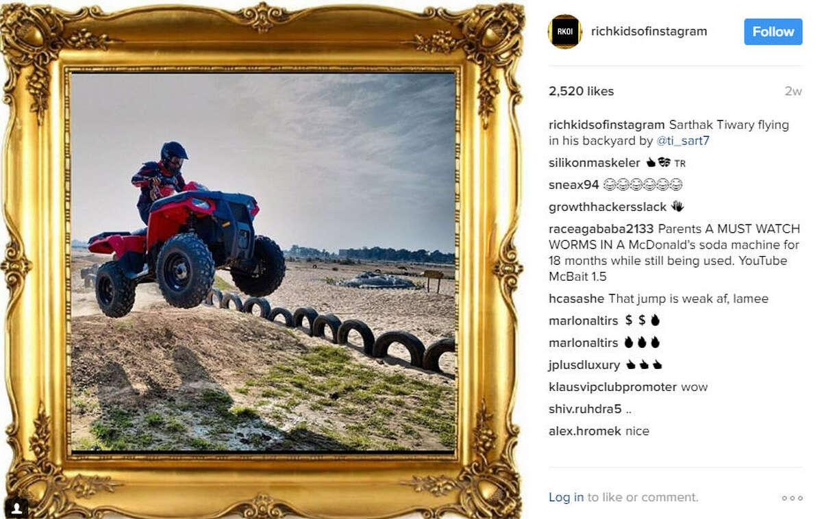 Photo: Rich Kids of Instagram