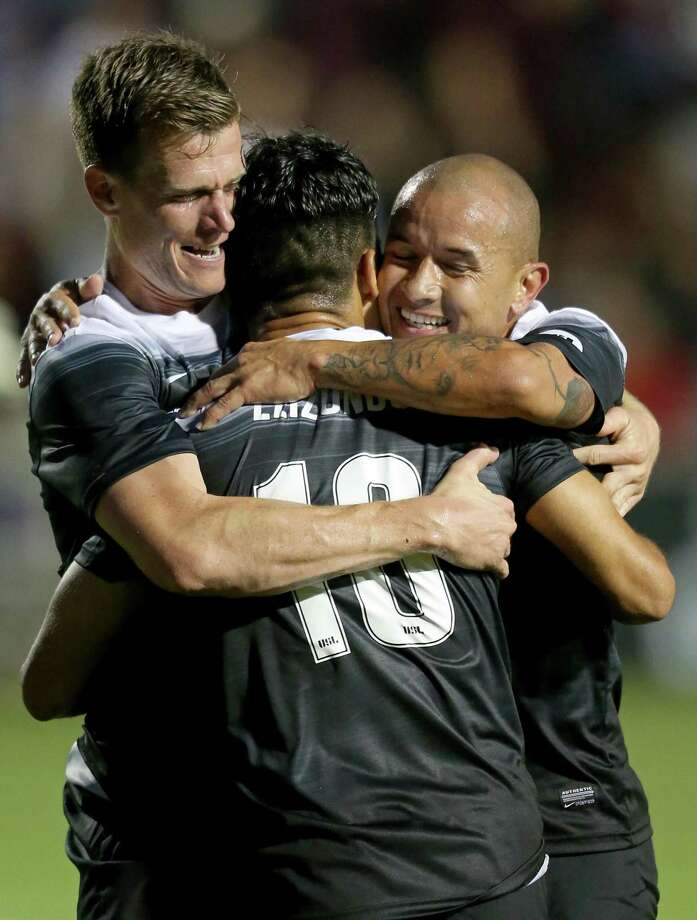 In staying unbeaten on the season, first-place San Antonio FC (7-0-2) was shutout for the first time. FILE PHOTO Saturday April 1, 2017 at Toyota Field. Photo: Edward A. Ornelas, Staff / San Antonio Express-News / © 2017 San Antonio Express-News