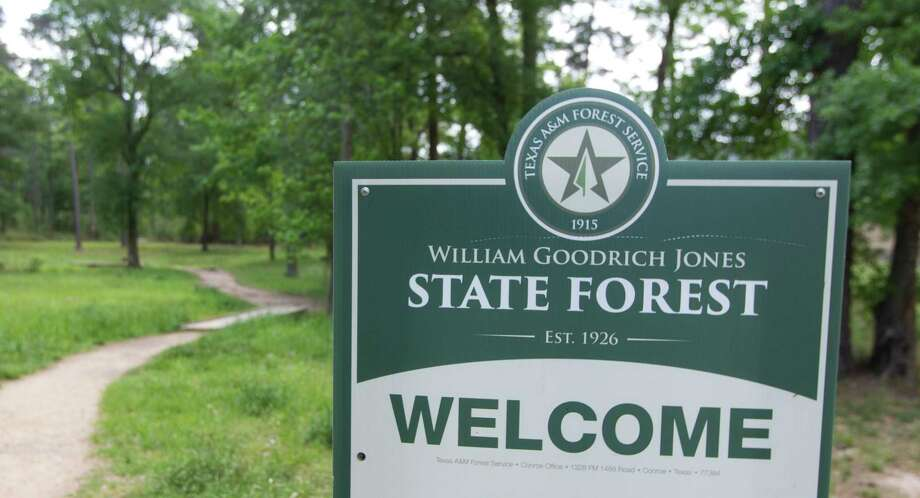 """State senator Brandon Creighton, R-Conroe, is drawing criticism for his proposed SB 1964, a measure amending the state Education Code so the construction of buildings, including some for é'private commercial use,é"""" would be allowed on the grounds of William Goodrich Jones State Forest. Photo: Jason Fochtman, Staff Photographer / © 2017 Houston Chronicle"""
