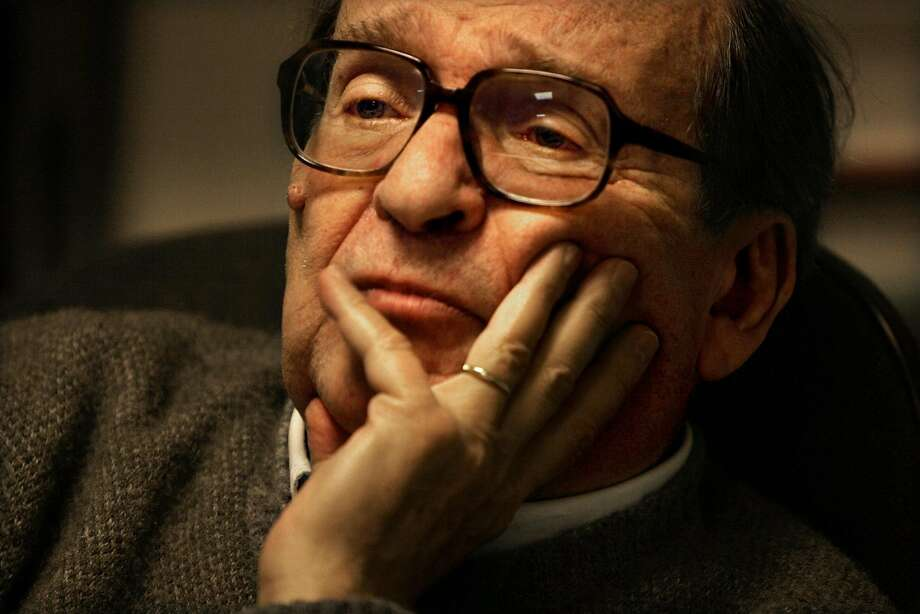 """Film director Sidney Lumet (1924-2011), shown during an interview in his New York office in 2006, directed such acclaimed films as """"Network,"""" """"Serpico,"""" """"Dog Day Afternoon"""" and """"12 Angry Men."""" Photo: Bebeto Matthews, AP"""