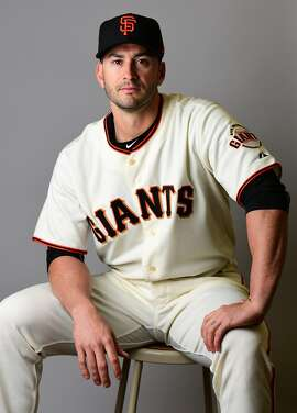 SCOTTSDALE, AZ - FEBRUARY 20:  Justin Ruggiano #39 of the San Francisco Giants poses for a portait during a MLB photo day at Scottsdale Stadium on February 20, 2017 in Scottsdale, Arizona.  (Photo by Jennifer Stewart/Getty Images)
