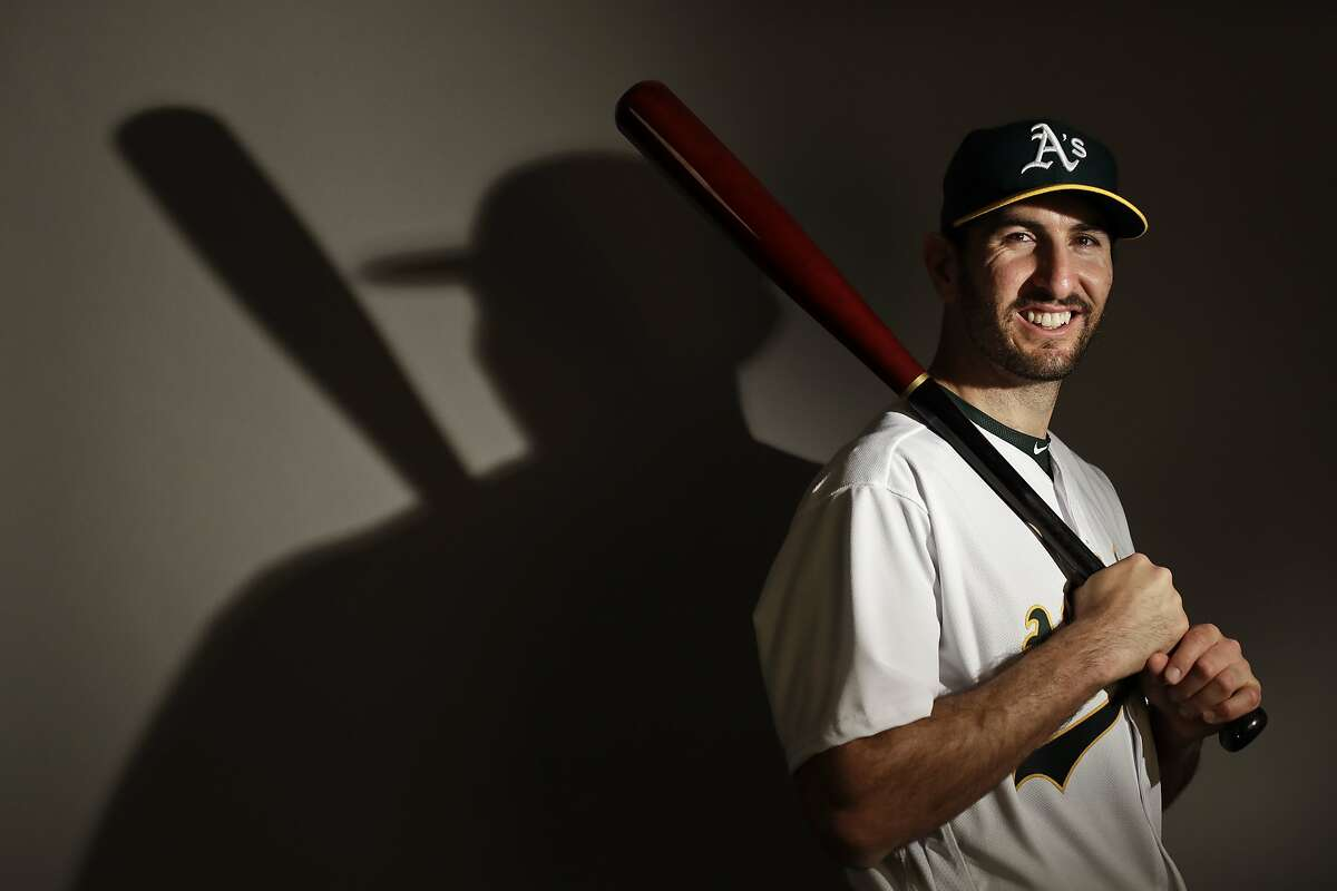 This is a 2017 photo of third baseman Adam Rosales of the Oakland Athletics baseball team poses for a portrait. This image reflects the Athletics active roster as of Wednesday, Feb. 22, 2017, when this image was taken. (AP Photo/Chris Carlson)