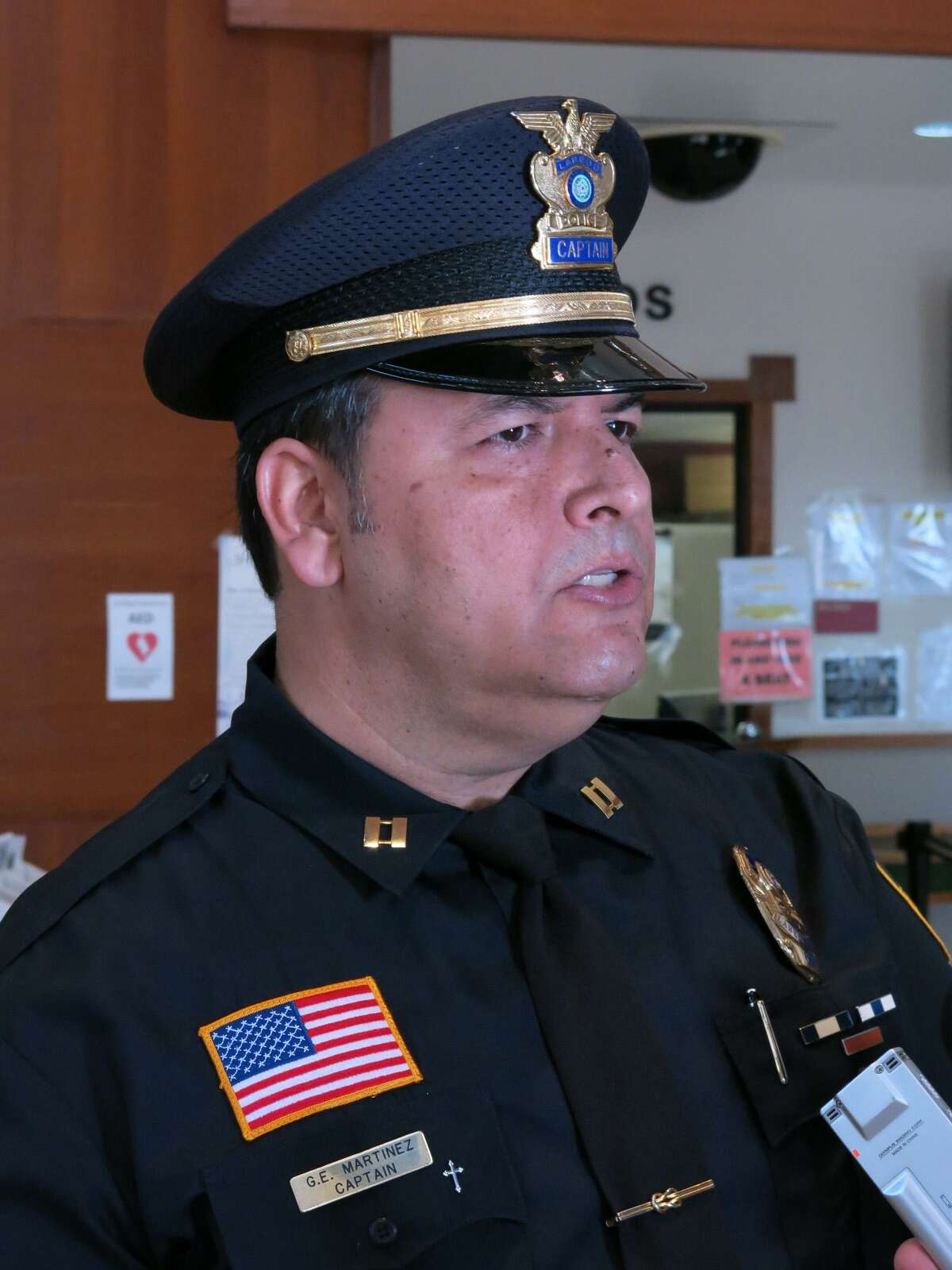 Acting LPD chief Gabriel Martinez is pictured. Click through the following slideshow to see how sanctuary cities responded to threats from Donald Trump.