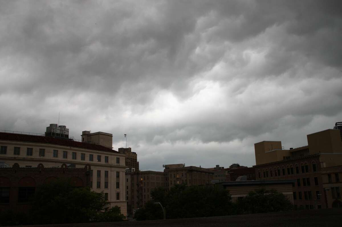 The National Weather Service reports San Antonio remains under a tornado watch until 1 p.m.