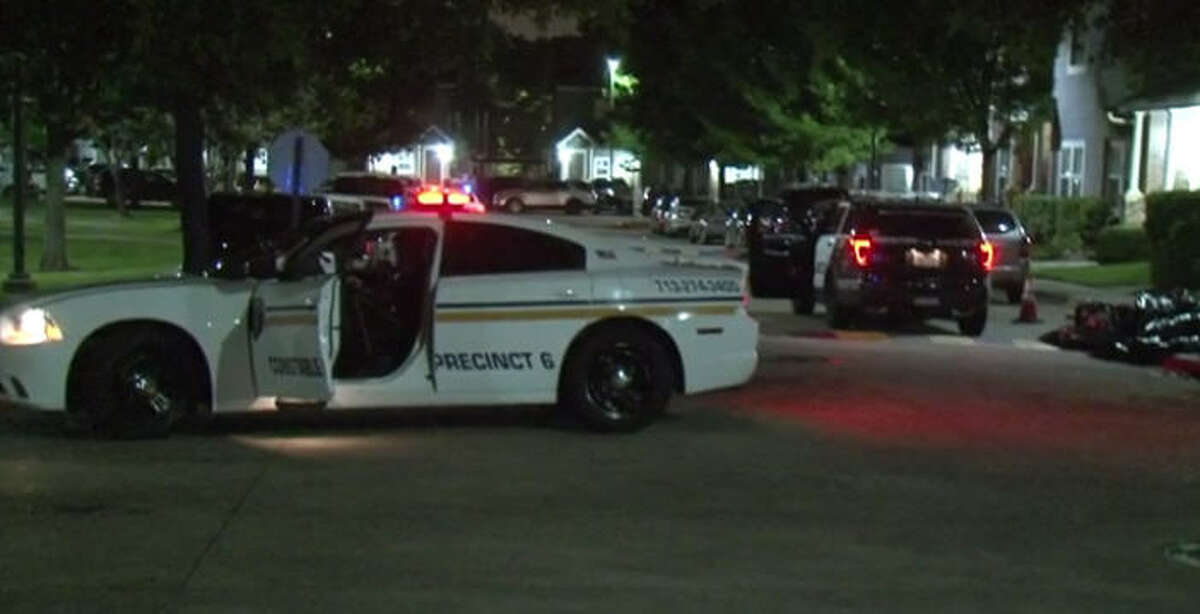 A woman allegedly plowed into three people after an altercation downtown.