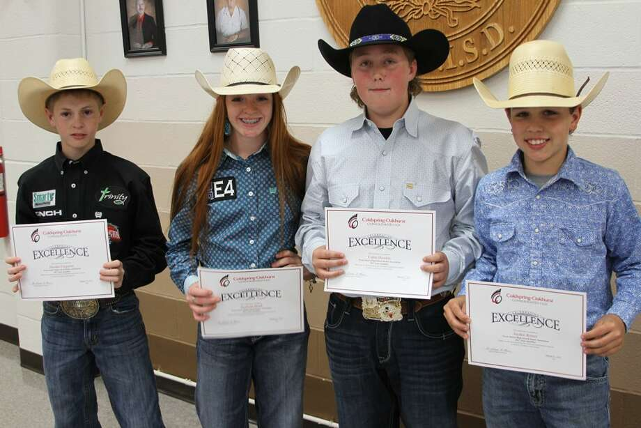 Rodeo Champs Honored By Cocisd Board Houston Chronicle
