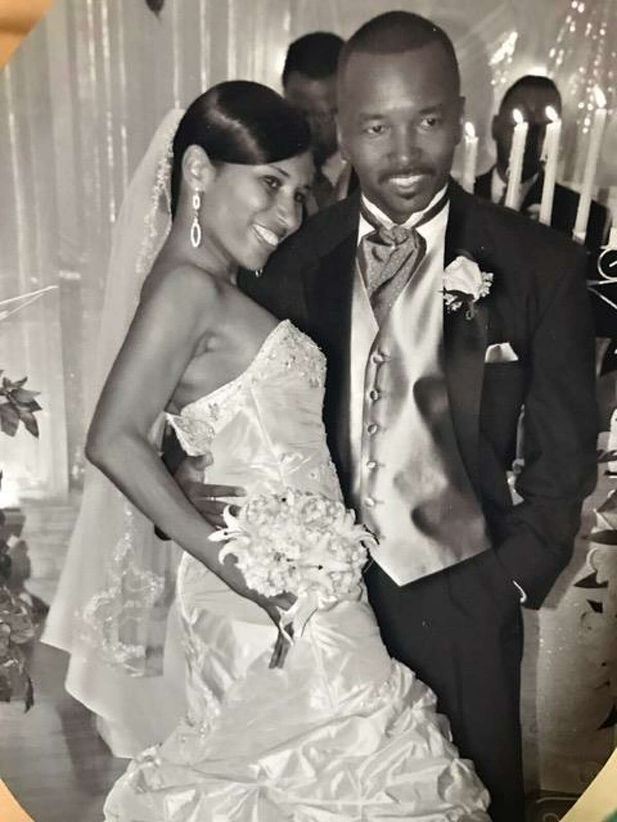 Jackie Davis-Delane and Patrick Delane, shown here in 2007 wedding pictures, were both killed by a wrong-way driver Sunday morning.