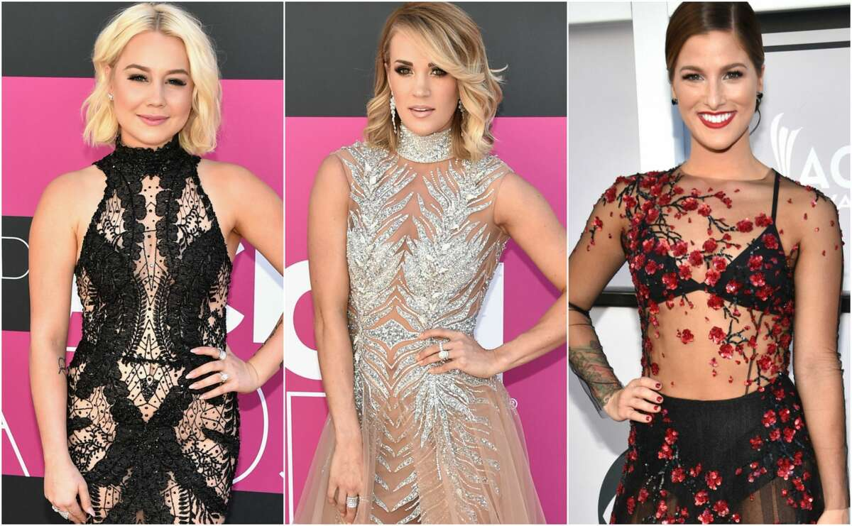 The 52nd Academy of Country Music awards aired Sunday, April 2, on CBS. Keep clicking to see the best and worst looks of the night.
