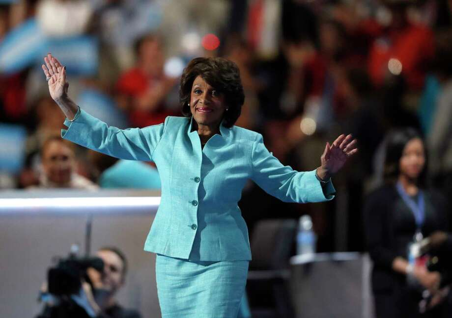 U.S. Rep. Maxine Waters, D-Calif., inspired the trending Twitter hashtag, #BlackWomenatWork. Photo: Paul Sancya, STF / Copyright 2016 The Associated Press. All rights reserved. This material may not be published, broadcast, rewritten or redistribu