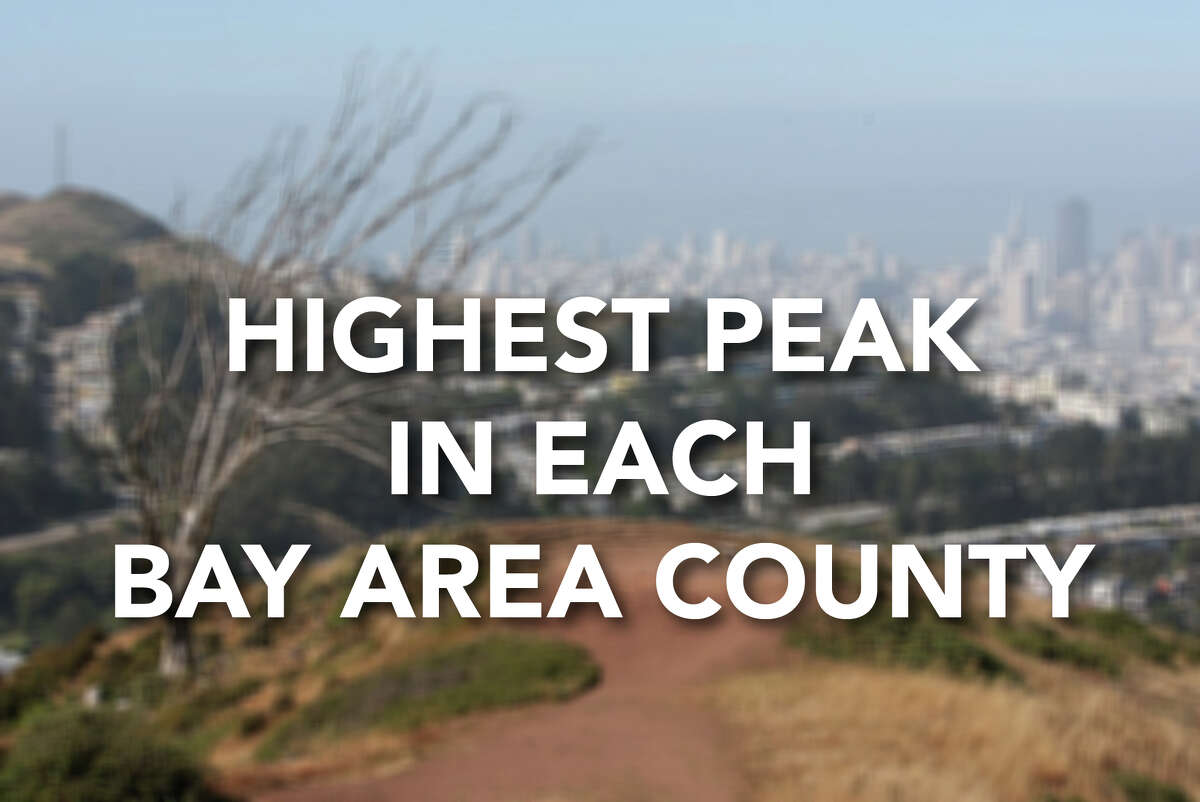 What's the highest spot in each county in the Bay Area? Click through the gallery to see some of the Bay Area's tallest peaks.