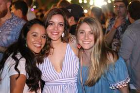 """St. Mary's University alumni got a jump on Fiesta with """"Baby Bake,"""" of Homecoming Oyster Bake, Sunday April 2, 2017 at the University. The event serves as one of the school's homecoming activities and is a toned-down version of the popular Oyster Bake."""