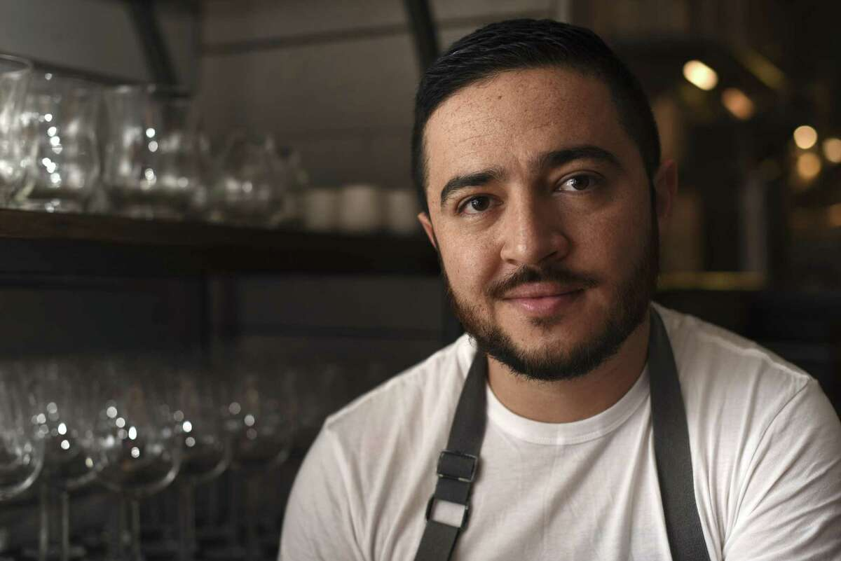 Diego Galicia, co-owner and chef at Mixtli restaurant.