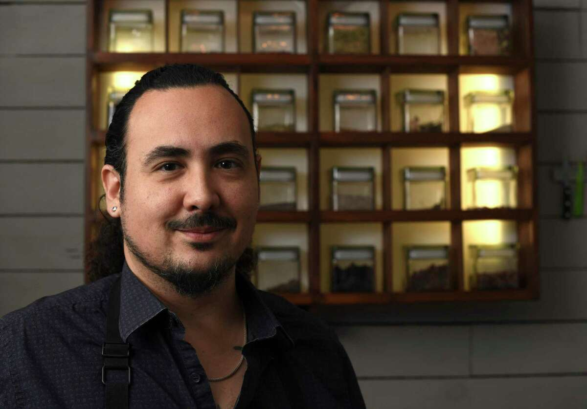 """""""Top Chef"""" judge Padma Lakshmi showcases chef Rico Torres (pictured) of San Antonio's Mixtli restaurant on her new show """"Taste the Nation with Padma Lakshmi."""""""