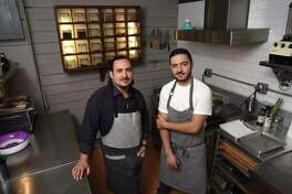 Rico Torres, left, and Diego Galicia, co-owners and chefs at Mixtli restaurant, 5251 McCullough Ave., are two of Food & Wine magazine's 12 Best New Chefs in America. March 31, 2017.