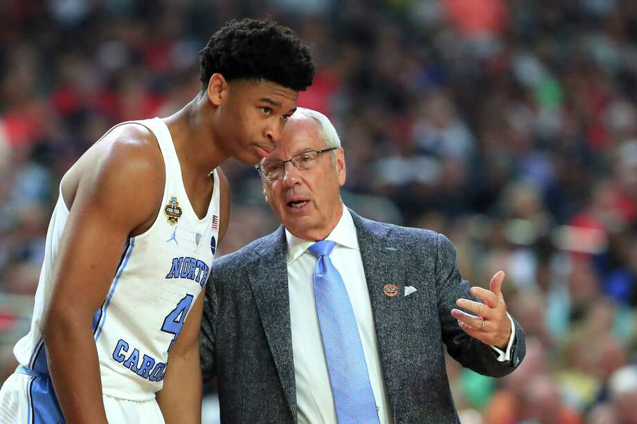 North Carolina coach Roy Williams needs Isaiah Hicks (4) to break out of the slump Hicks has been in since the tournament opening win over Texas Southern. Photo: Tom Pennington, Staff / 2017 Getty Images