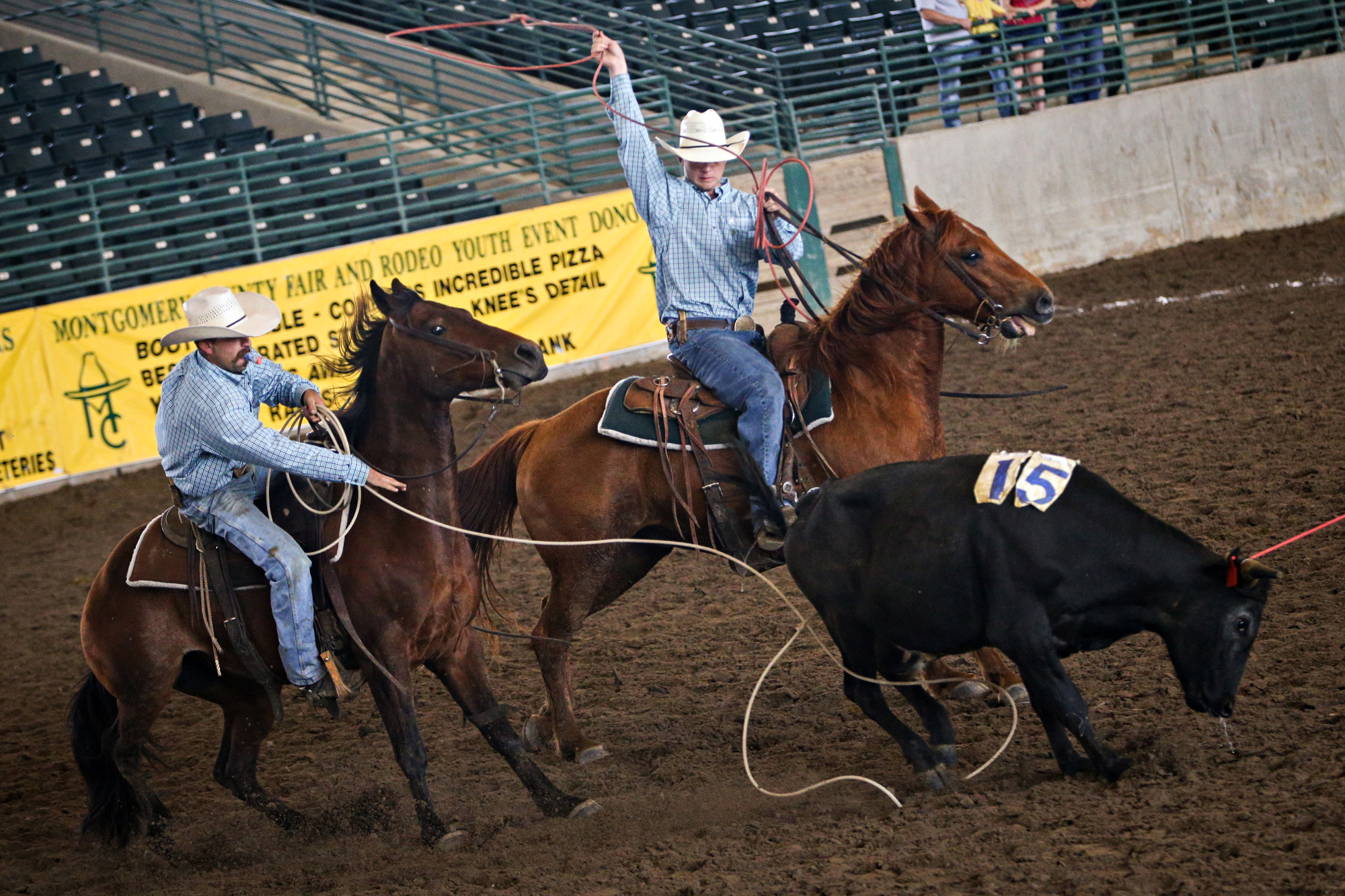 Montgomery County Fair S Ranch Rodeo Makes Cowboying A