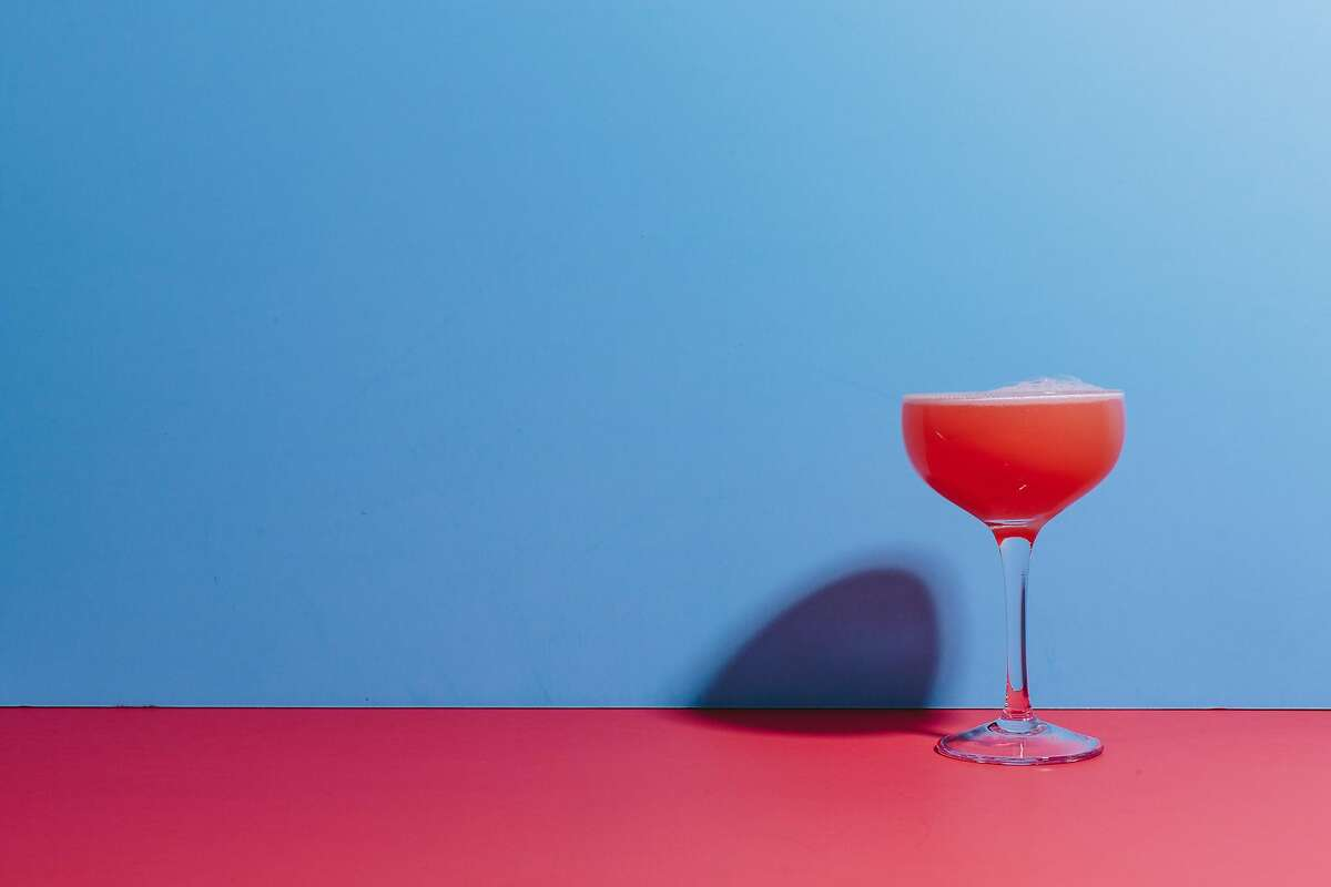 Pink drinks are for women, the mass-market alcohol industry would have us believe.
