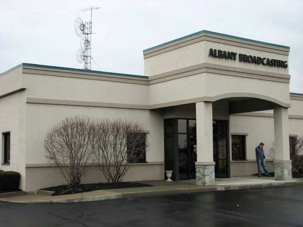 Times Union staff photo by Paul Buckowski --- A view of the outside of Albany Broadcasting in Latham, NY on Thursday, Nov. 29, 2007, which houses radio stations including WROW.