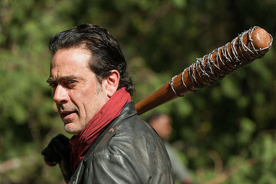 Jeffrey Dean Morgan as Negan - The Walking Dead _ Season 7, Episode 16 - Photo Credit: Gene Page/AMC Photo: Gene Page/AMC
