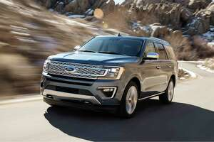 The 2018 Ford Expedition has a high-strength aluminum alloy body, 10-speed automatic transmission and more power.