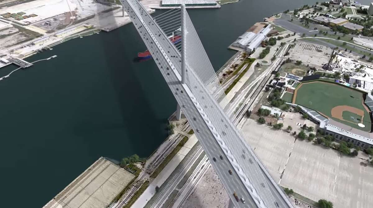 A video posted on Harbor Bridge Project's YouTube channel shows a digital rendering of what the new bridge will look like come 2020 in Corpus Christi.