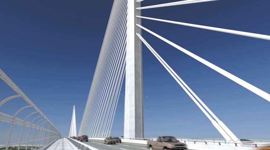 A video posted on Harbor Bridge Project's YouTube channel shows a digital rendering of what the new bridge will look like come 2020 in Corpus Christi. Photo: YouTube/Harbor Bridge Project