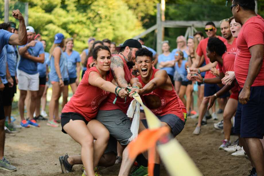 "Camp No Counselors, an idea featured on ABC's ""Shark Tank,"" opened registration for their all-inclusive adult oasis. The camps are dotting the country, giving Alamo City adults the chance to ""play like a kid, party like a grown up"" from Oct. 6 to Oct. 9 a little more than an hour away in Hunt. Photo: Camp No Counselors"