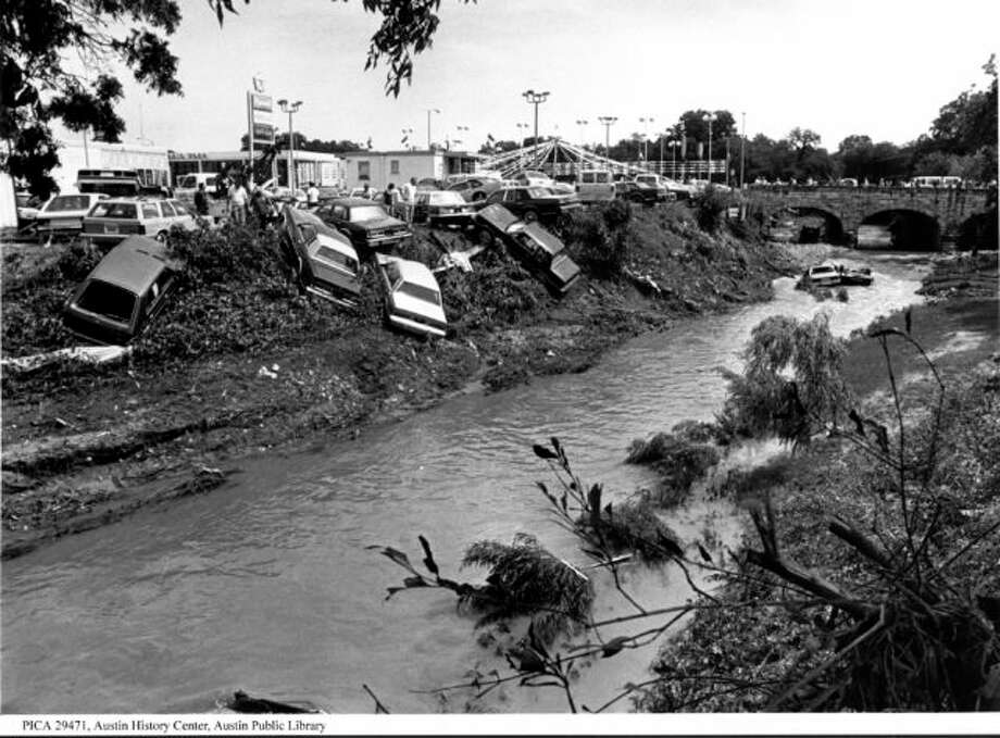 1981 flooding in Austin. Photo: City Of Austin