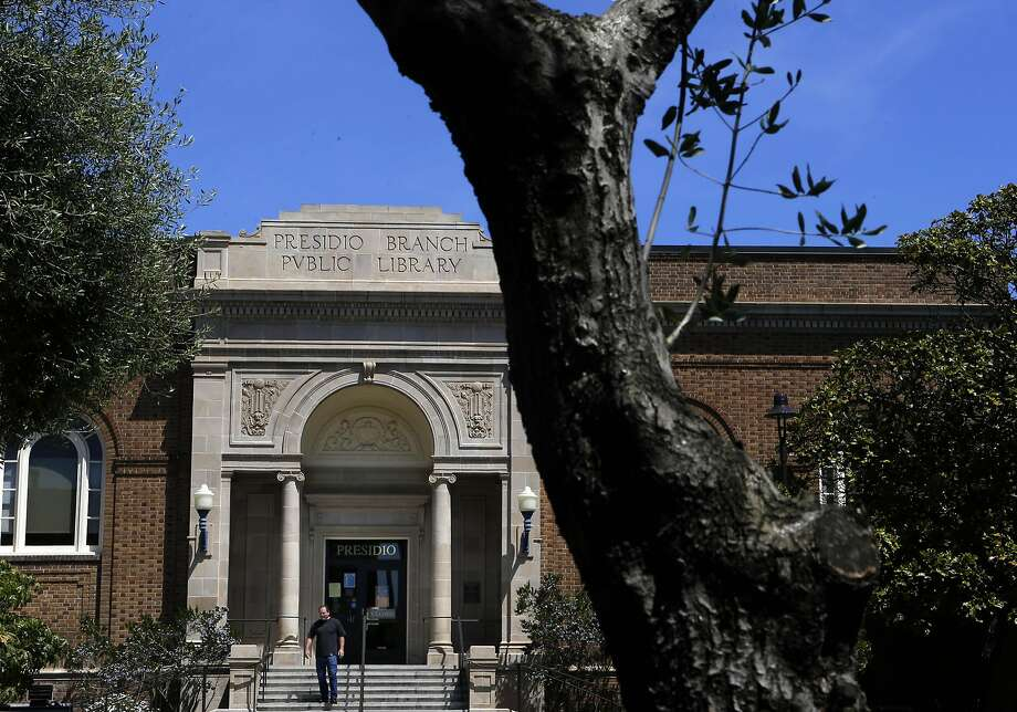 The front of the Presidio branch library in San Francisco, which will now be open every day. Photo: Michael Macor, The Chronicle