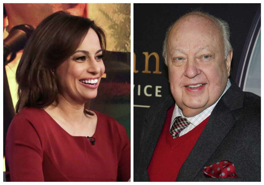 "Fox contributor Julie Roginsky  says a promised position on the Fox show ""The Five"" never happened after she rejected Roger Ailes' sexual advances. Photo: Associated Press Photo Illustration / AP"