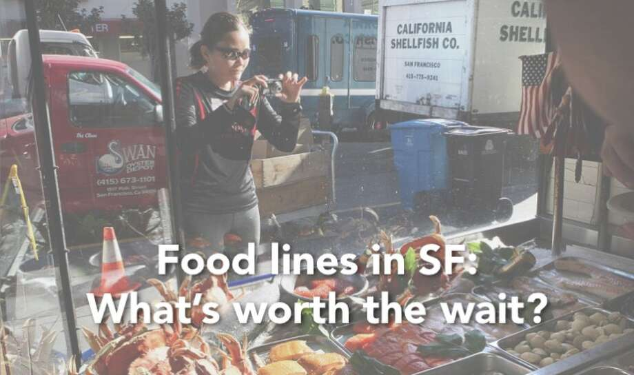 Find out what some of the longest food lines in San Francisco are, and the best times to visit. Photo: Liz Hafalia, San Francisco Chronicle