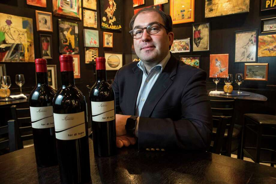 Scott Sulma recommends the 2010 Kellerei-Cantina Andrian Tor di Lupo, Lagrein Riserva at Ciao Bello. Photo: Brett Coomer, Staff / © 2017 Houston Chronicle