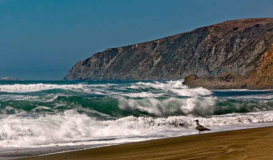 Tomales Point by Point Reyes National Seashore, in Point Reyes in 2010. A man died off Avalis Beach south of Tomales Point when a boat capsized, officials said. Photo: Michael Macor, The Chronicle