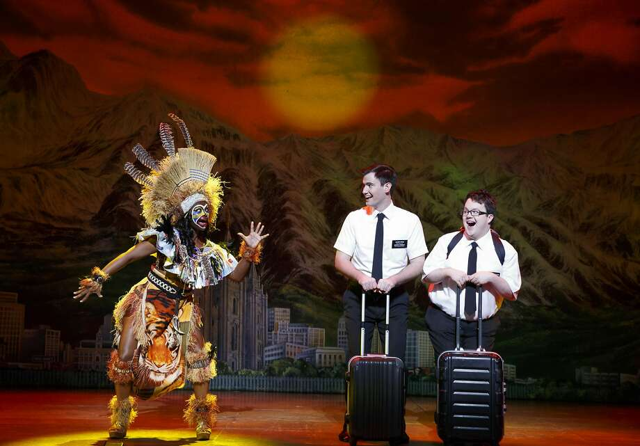 Joan Marcus Photo: Joan Marcus, A Scene From The Book Of Mormon National Tour.