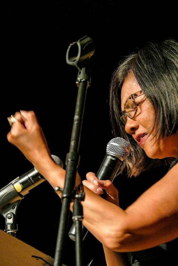 SFJazz Poet Laureate Genny Lim curated this year's festival to meld music and poetry as a regional phenomenon. Photo: Courtesy Genny Lim