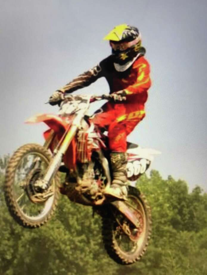 Newtown resident Ryan Fetchick, 19, who died Sunday while working on his truck, doing what he loved to do best, riding his motorcycle. Photo: / Contributed