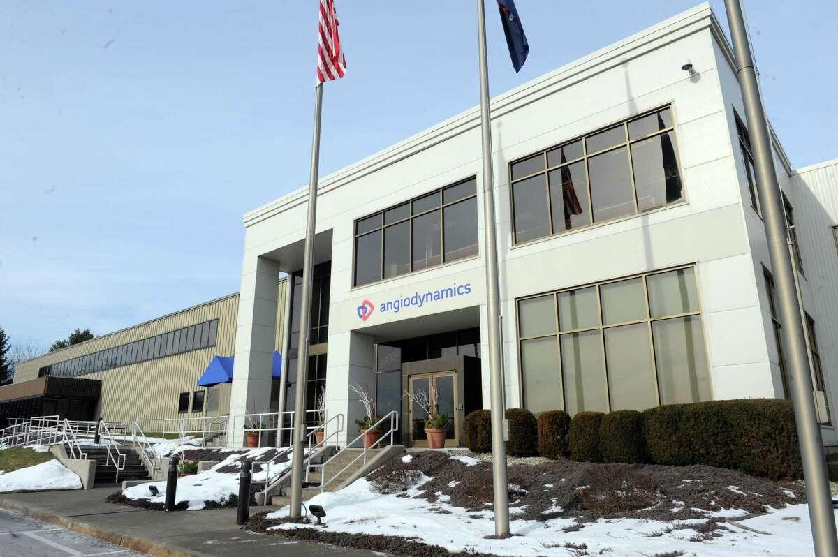 AngioDynamics on Thursday Jan. 7, 2016 in Glens Falls, N.Y. (Michael P. Farrell/Times Union)