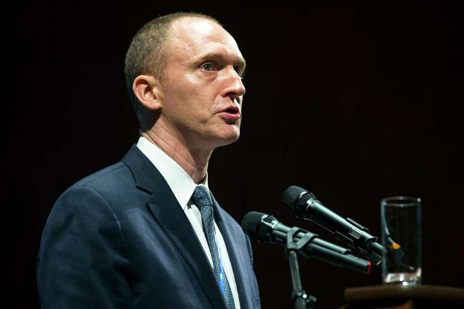 Carter Page's speech at the graduation ceremony for the New Economic School in Moscow helped set off alarms about his contacts with Russia, officials say. Photo: Pavel Golovkin, STF / Copyright 2016 The Associated Press. All rights reserved.