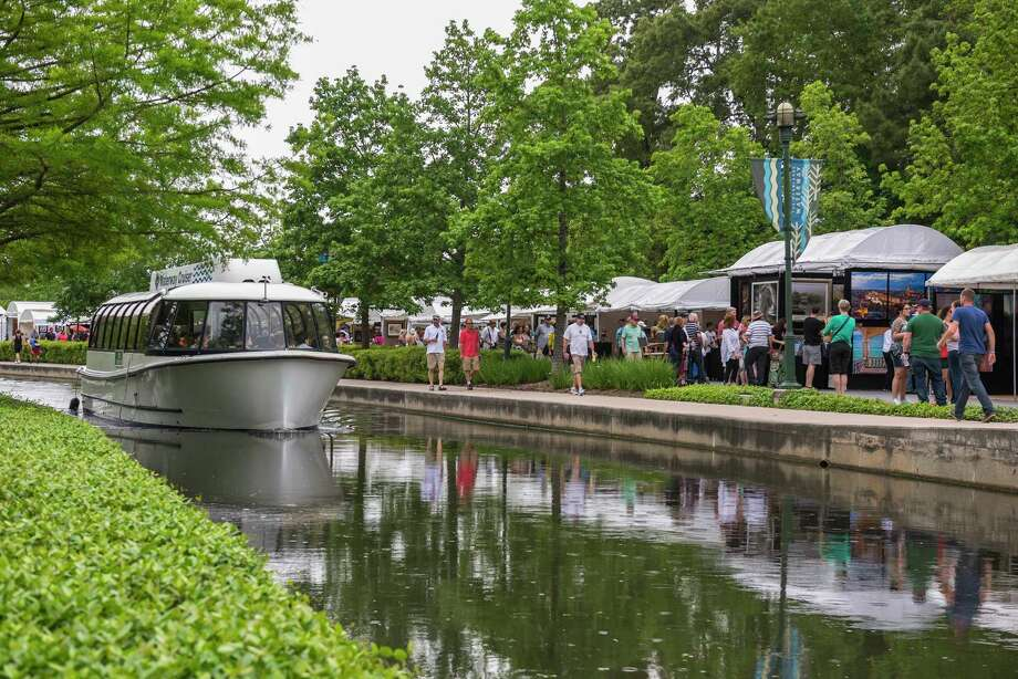 Hundreds of artists and craftsmen will be showcased at the 11th annual Woodlands Waterway Arts Festival along The Woodlands Waterway and in Town Green Park.The festival features music, chef demonstrations and children's games. Photo: Ted Washington / Ted Washington