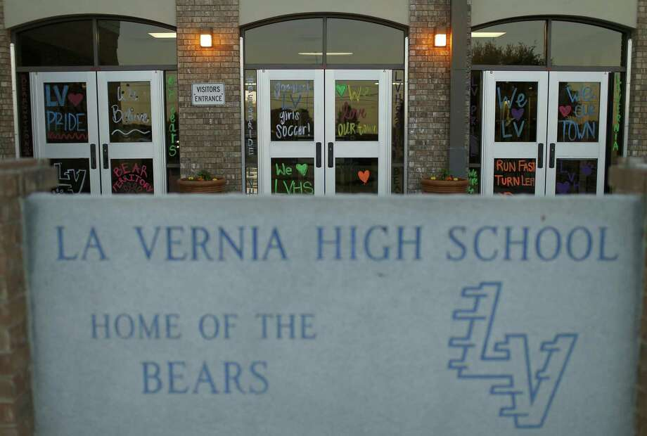 A view of La Vernia High School, Monday April 3, 2017 in La Vernia, TX, during a La Vernia Independent School District Board of Trustees meeting. Photo: Edward A. Ornelas, Staff / San Antonio Express-News / © 2017 San Antonio Express-News