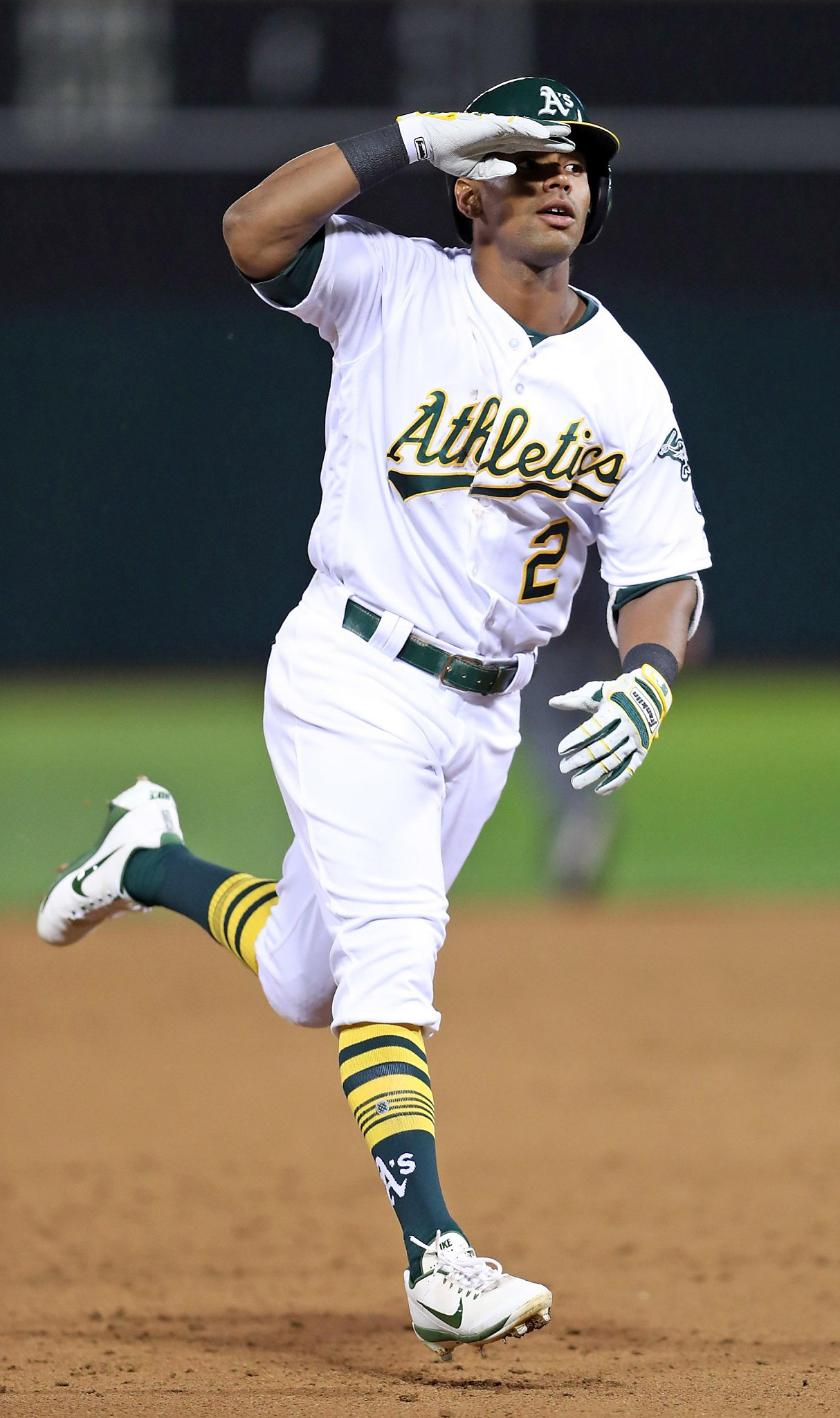 khris davis powers a�s opening night victory sfgate