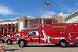 Laredo Fire Department purchased three new ambulances that were placed in service on March 27.