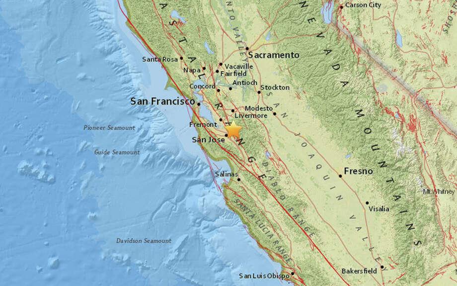 a magnitude 2 9 earthquake struck at 5 14 am tuesday morning april 4 2017