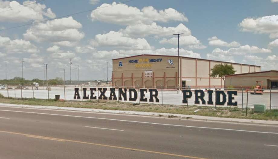 Alexander High School a reported 70 percent attendance rate following threatening message. Photo: Google Street View