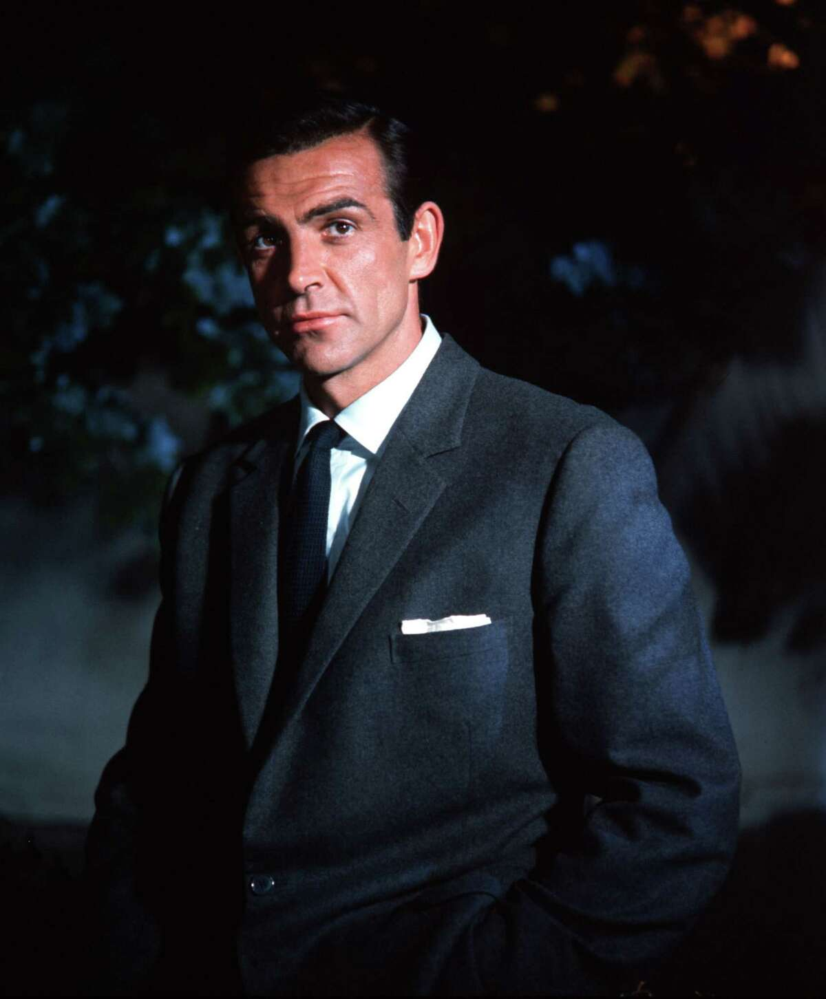 """England, 1963, Actor Sean Connery is pictured in the role of James Bond in the film """"Dr No"""" (Photo by Popperfoto/Getty Images)"""