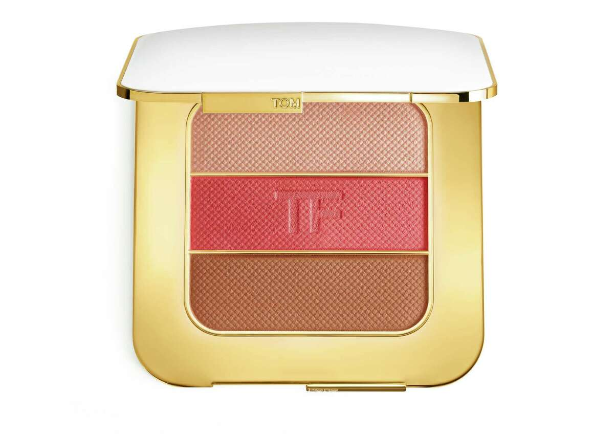 From Tom Ford?s Soleil Color Collection for Spring/Summer 2017 comes this contouring compact (blush, highlighter, and bronzer) that imparts immediate sun-kissed radiance; $108 at Tom Ford, River Oaks District.