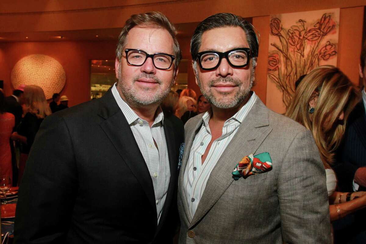 Cerón with husband and event designer Todd Fiscus